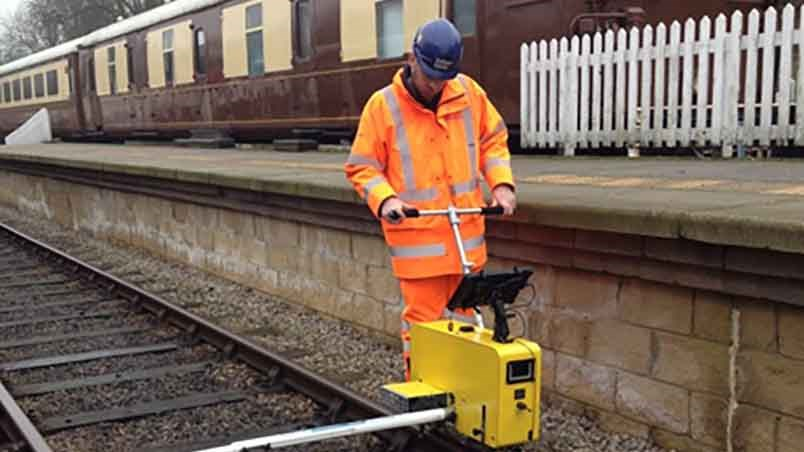 Rail profile – trolley mounted solution