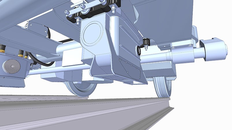 Track geometry – passenger fleet bogie-mounted solution