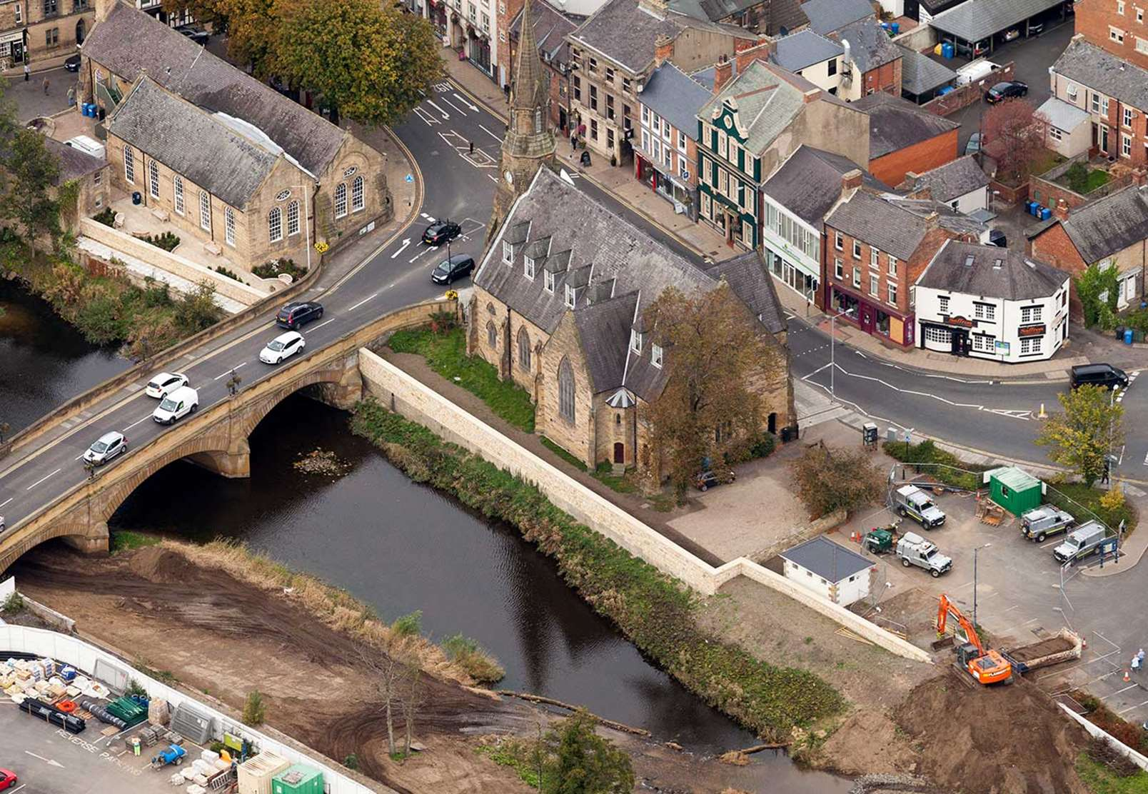 Morpeth Flood alleviation scheme