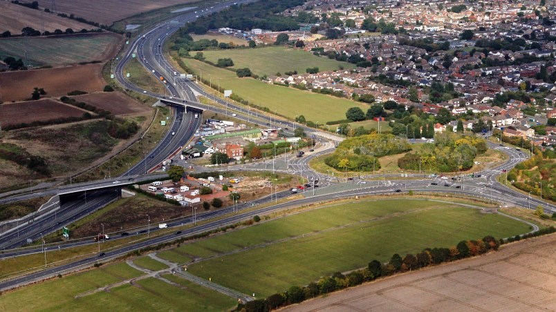 A13/A130 Sadlers Farm