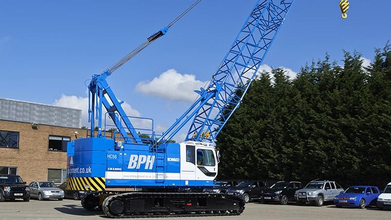 Crawler Cranes - Plant and equipment hire - BPH Equipment