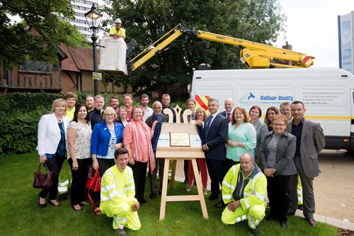 Balfour Beatty and Southampton City Council celebrate completion