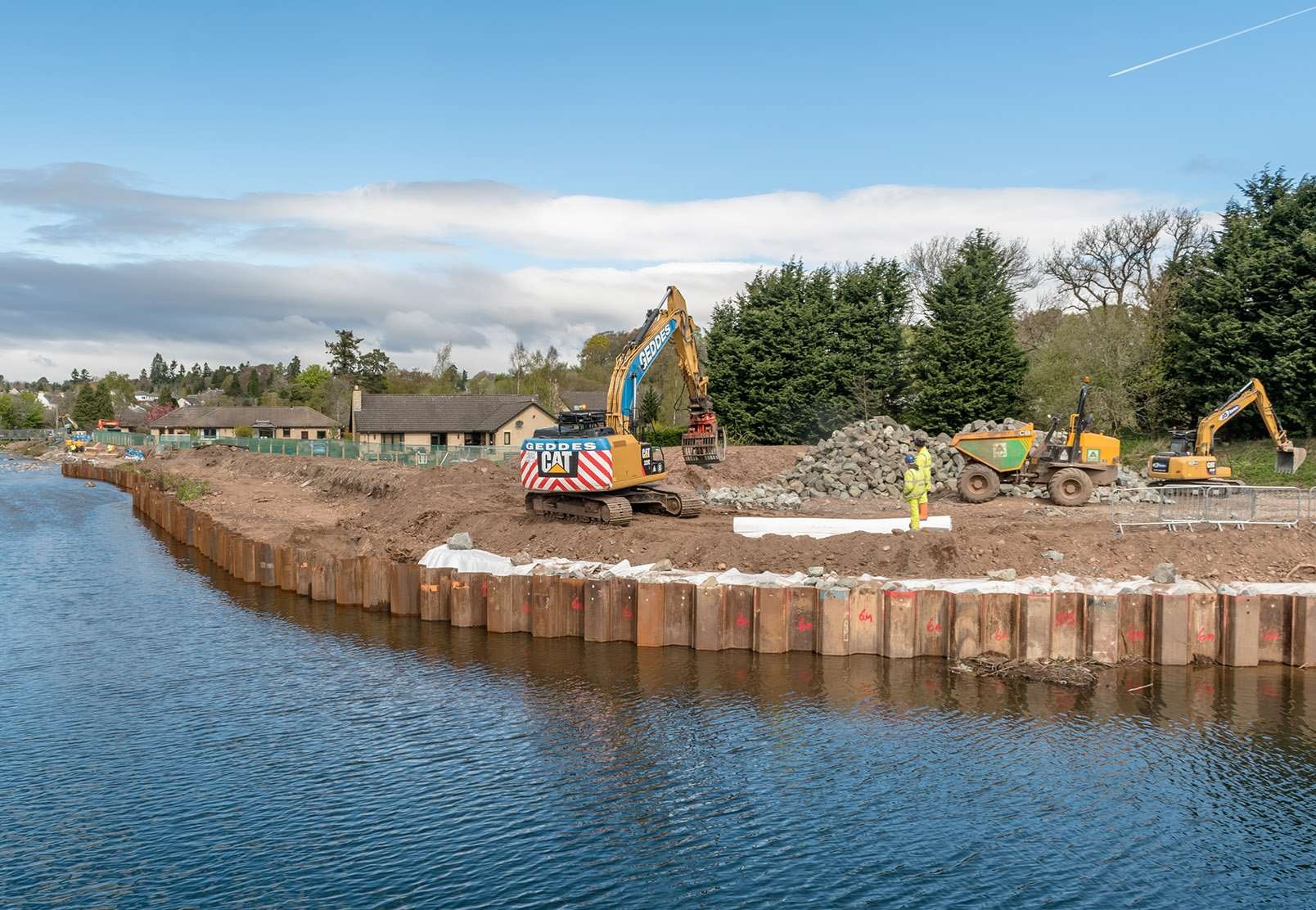 Almondbank Flood Protection Scheme