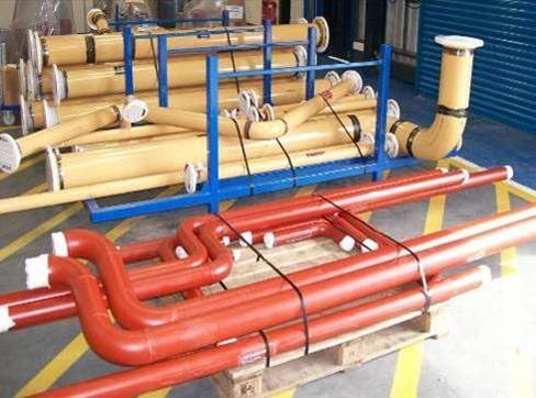 Prefabricated pipework picture