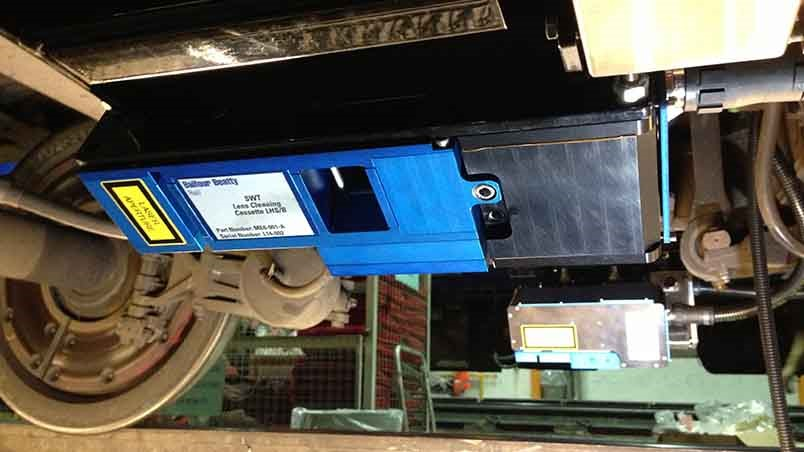 Rail profile – vehicle mounted solution